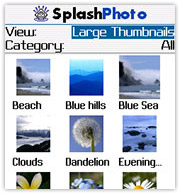 SplashPhoto for BlackBerry